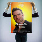 """The 30 Year-Old Virgin"" - personalizowany plakat filmowy"